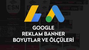 Google Reklam Bannerları